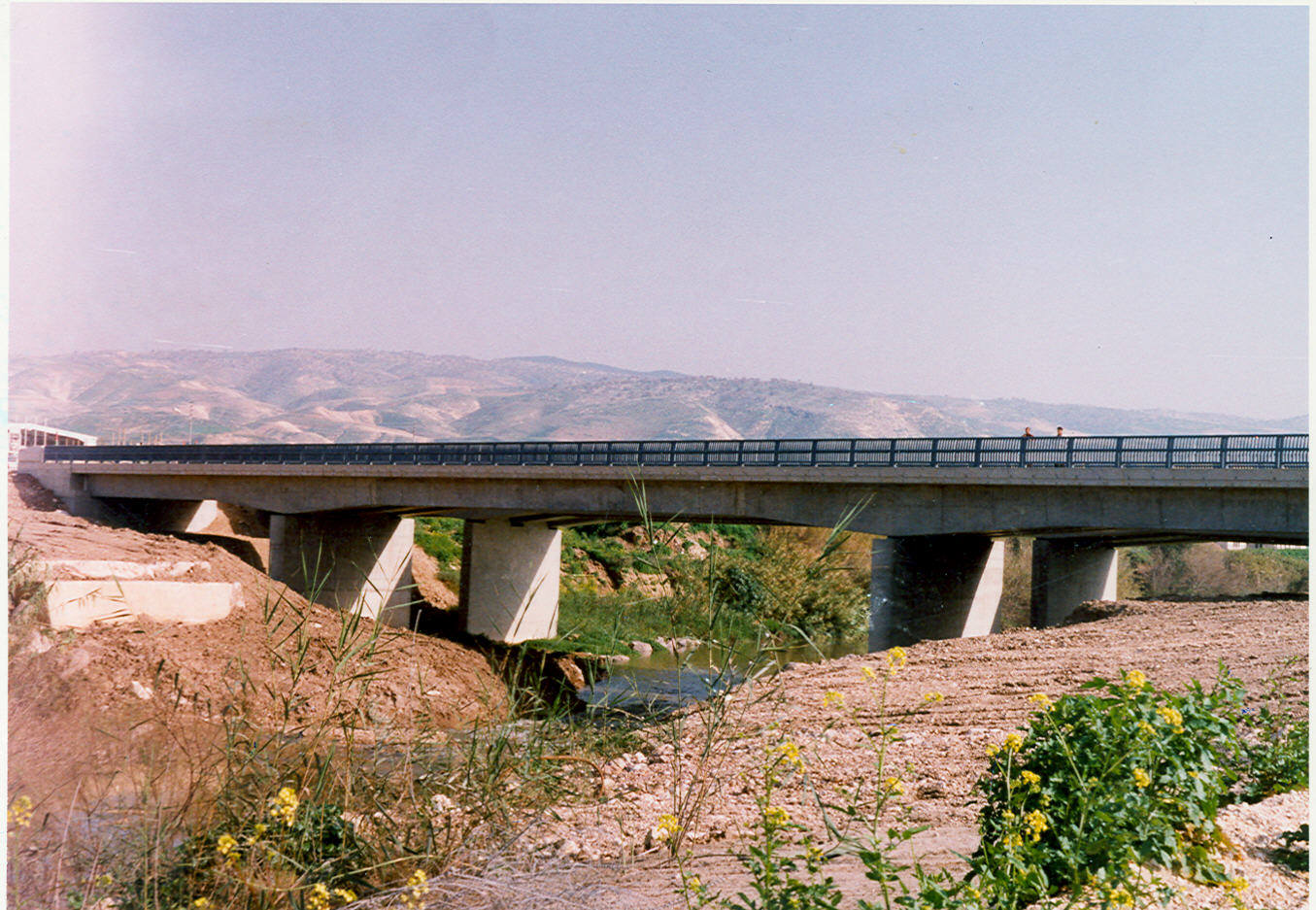 Sheikh Hussein Bridge Crossing Jordan River
